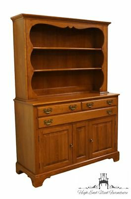 WILLETT Solid Elswick Cherry 50″ Buffet w. Hutch 7960 7950