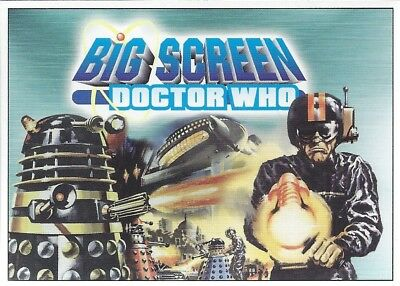 Promo Unnumbered Promotional Daleks Doctor Who Big Screen Additions Strictly Ink