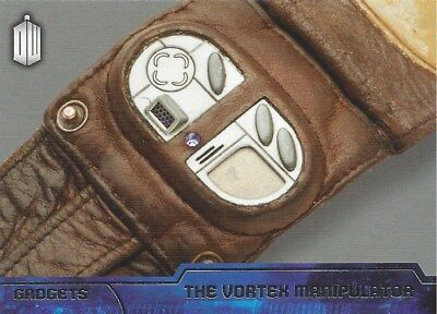 Gadgets G-6 The Vortex Manipulator Foil Chase Doctor Who 2015 Topps 50 Years