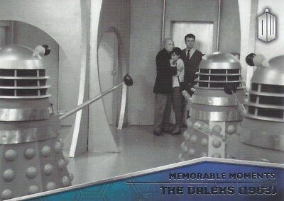 Memorable Moments MM-1 The Daleks 1963 Foil Chase Doctor Who 2015 Topps