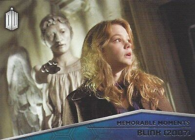 Memorable Moments MM-6 Blink 2007 Sally Sparrow Foil Chase Doctor Who 2015 Topps