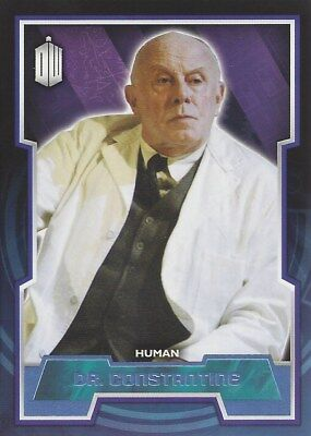 Parallel Base Card Blue 129 #085/199 Dr Constantine Human Doctor Who 2015 Topps