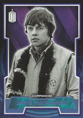 Parallel Base Card Blue 33 #017/199 Jamie McCrimmon Doctor Who 2015 Topps