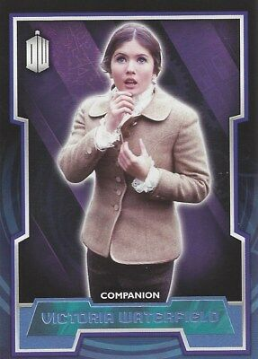 Parallel Base Card Blue 48 #178/199 Victoria Waterfield Doctor Who 2015 Topps
