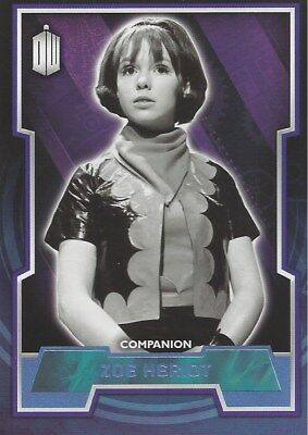 Parallel Base Card Blue 51 #136/199 Zoe Heriot Companion Doctor Who 2015 Topps