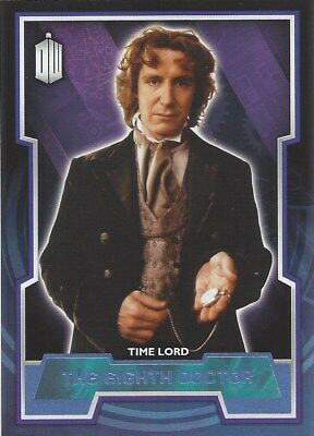 Parallel Base Card Blue 8 #066/199 8th Paul McGann Doctor Who 2015 Topps