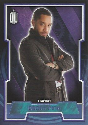 Parallel Base Card Purple 160 #29/99 Danny Pink Human Doctor Who 2015 Topps