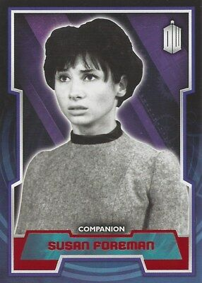 Parallel Base Card Red 46 #02/50 Susan Foreman Companion Doctor Who 2015 Topps