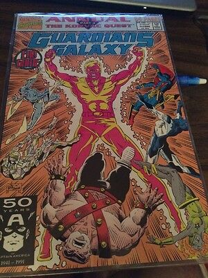 Guardians of the Galaxy Annual #1 Marvel Comics 1991 Korvac Quest