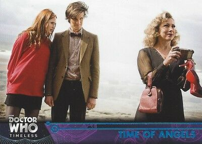 BLUE Parallel 72 Time of Angels #49/99 11th River Doctor Who Timeless 2016 Topps