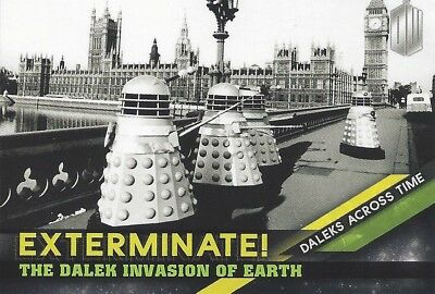 Daleks Across Time 2 of 10 Dalek Invasion of Earth Doctor Who Timeless 2016