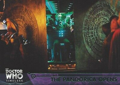 GREEN Parallel 75 Pandorica Opens 11th River Song Doctor Who Timeless 2016 Topps