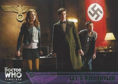 GREEN Parallel 80 Let's Kill Hitler Amy 11th Eleventh Doctor Who Timeless 2016