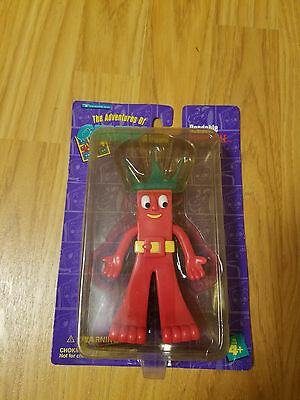 Fatbuckle The Adventures Of Gumby & Friends 1996 Nicklodeon Moc Bendable