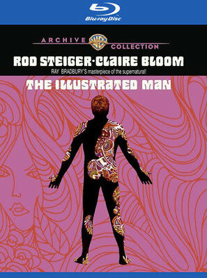 The Illustrated Man [New Blu-ray] Manufactured On Demand, Amaray Case, Digital