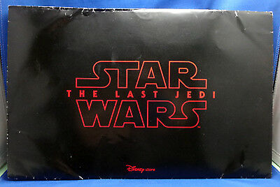 Star Wars Force Friday Ii 9/1 The Last Jedi 6 Poster Set Sealed Disney Store
