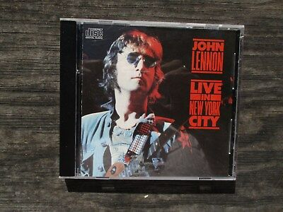 Live in New York City by John Lennon (CD, Mar-1986, Capitol] This is a CD