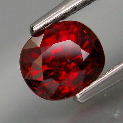 1.39Ct.Outstanding Color! Natural Red Spessartite Garnet Africa