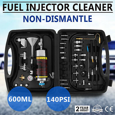 Auto C-100 Non-Dismantle Fuel System Cleaner Petrol Car Outlet Tester FuelSystem