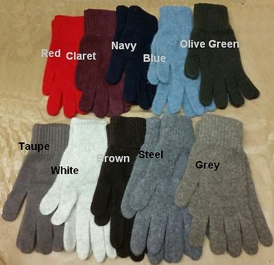 House of Tweed Women's 100% Wool Gloves - SPECIAL PURCHASE