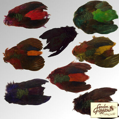 Gordon Griffiths Golden Pheasant Skin - Dyed and Natural (GPSKN)