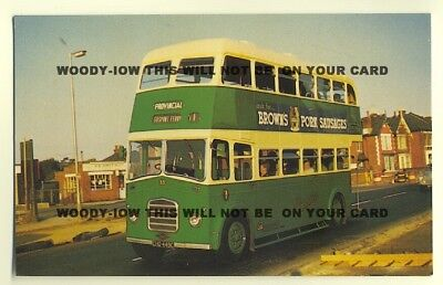 tm153 - Gosport & Fareham Bus No 33 - postcard