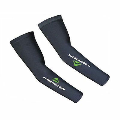 2X Cycling Bike Bicycle Arm Warmers Cuff Sleeve Cover UV Sun Protection XL 7725