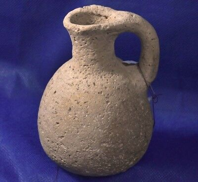 Iron age II JUDAEA Juglet 9-8 Century BC. Ancient Holy Land Judea Temple times.