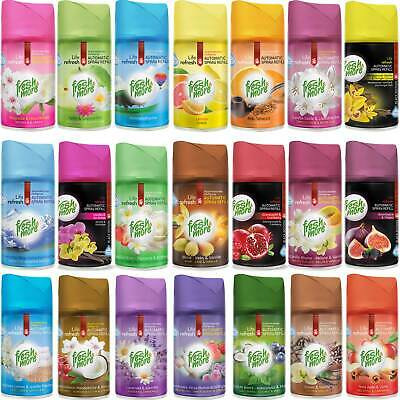 30 X Fresh&more Mix Ambientador Recargable para Freshmatic Max - 250ml