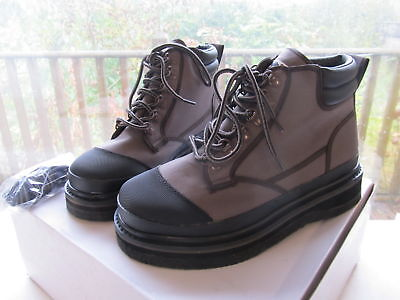 Special Clearance Bison Felt Soled Wading Boots Size 8