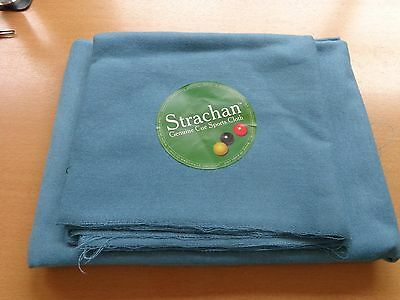 Strachan Super Pro Speed Pool Cloth 6X3 Bed & Cushion Cloth Powder Blue