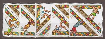 Cook Islands Sg295/304 1969 South Pacific Games Mnh