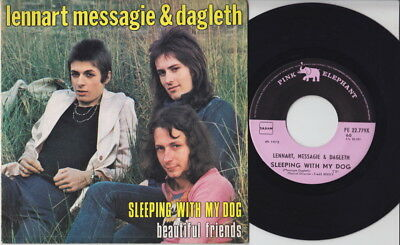 LENNART MESSAGIE & DAGLETH * 1973 Belgian GLAM POWERPOP 45 * Listen!