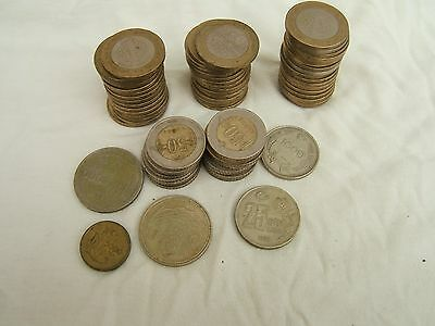 A Collection Of Turkish Coins... 70 Coins...