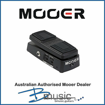 Brand NEW Mooer Free Step Wah and Volume Pedal - New Mooer Pedal for 2017