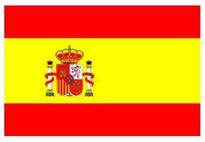 5ft x 3ft Spain Country National Flag Indoor Outdoor 1 Pack with Eyelets