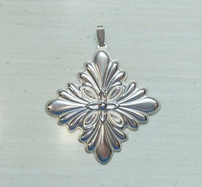 Reed & Barton Sterling Silver 1988 Christmas Ornament ~12.4grams ~ 2-F4041