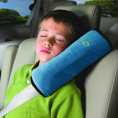 Auto Car Safety Seat Belt Shoulder Pad Cover Soft Pillow Cushion For Kids Child