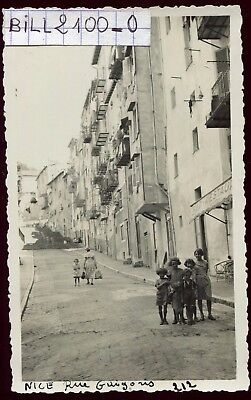 Nice . Alpes-Maritimes . rue Guigonis . photo ancienne . 1934