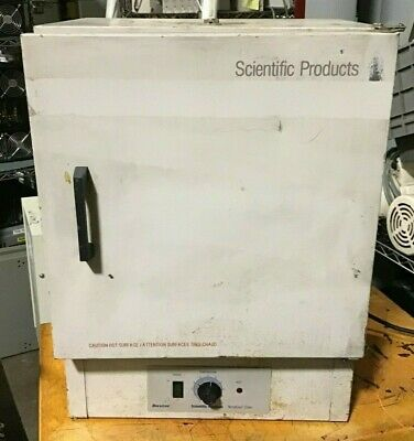 Lab-Line N8620-5A Gravity Convection Oven 16w x 11d x 16h Tested