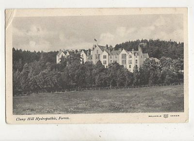 Cluny Hill Hydropathic Forres 1904 Postcard Forres Postmark 469b
