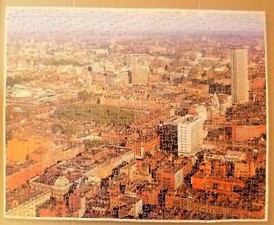 Vintage  Old Wooden Jigsaw Puzzle.