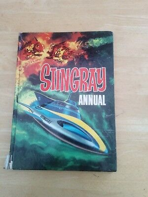 Gerry Anderson Stingray annual 1966, 101 pages, good condition.