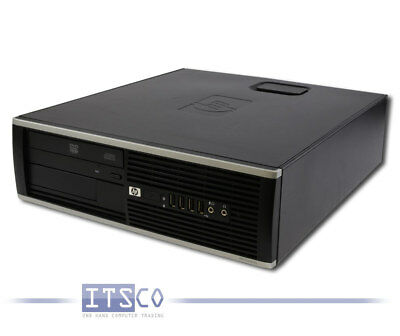PC HP COMPAQ 6000 PRO SFF CORE 2 DUO E8500 2x 3.16GHz 2GB OHNE HDD DVD-ROM SFF