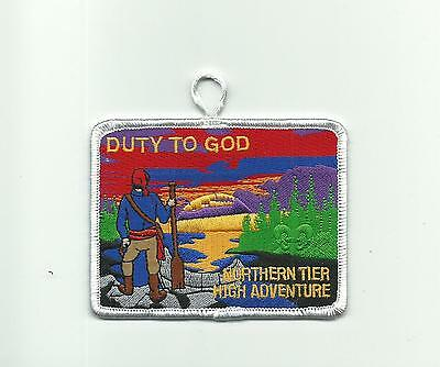 Scout Bsa Northern Tier  High Adventure Base Duty To God Patch Pretty Mn  Badge