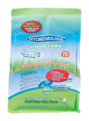 Hydro Mousse Liquid Lawn  As Seen on TV  Shade  Grass Seed  1 lb.