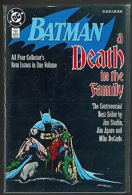 Batman Death in the Family TPB, and Blind Justice GN, Mint