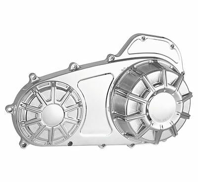 Harley Flst 2000 Thru 2016  10 Guage Outer Primary Cover  Chrome Plated 16-412