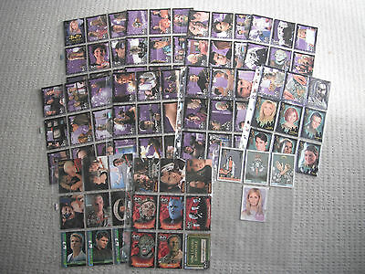 Buffy The Vampire Slayer : Season Four 90 Card Base Set + 3 Chase Cards + Promo
