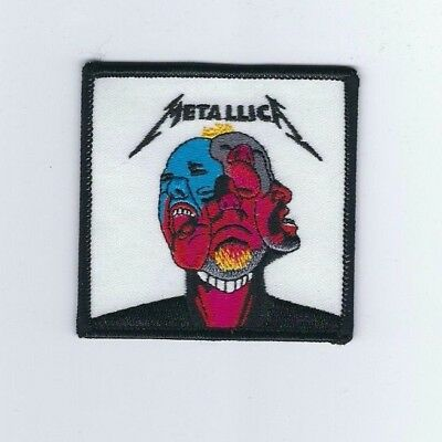 Metallica Hardwired... To Self Destruct Embroidered Patch !